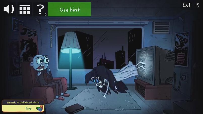 Хоррор игра: Troll Face Quest Horror 2 скачать