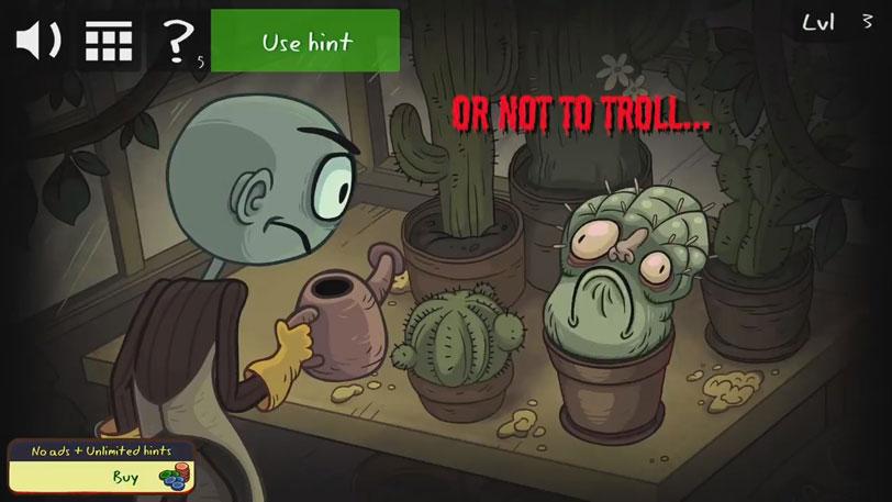 Хоррор игра: Troll Face Quest Horror 2 на телефон