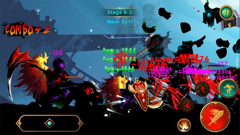 Demon Warrior [15 000 золота и без рекламы] на андроид