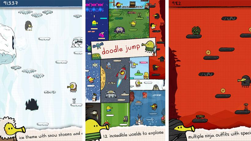 Новая версия: Doodle Jump 2019 скачать