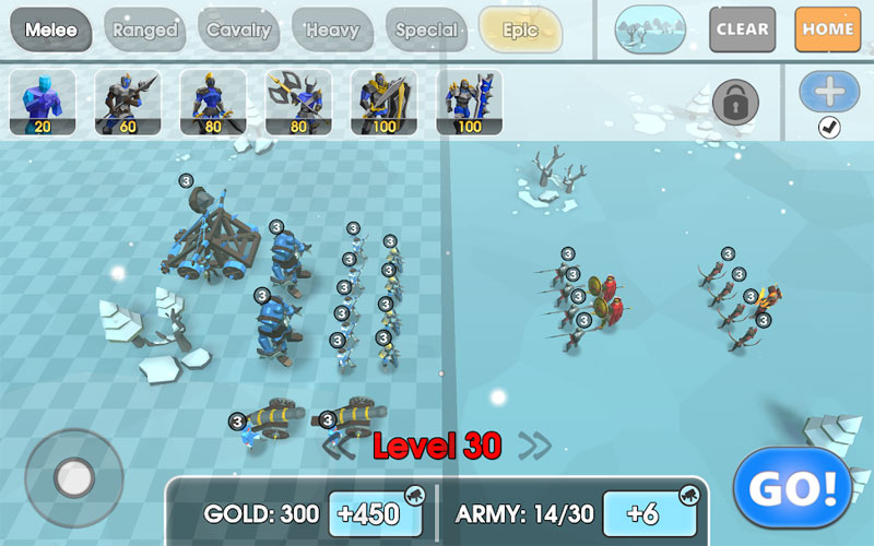 Epic Battle Simulator 2 на андроид