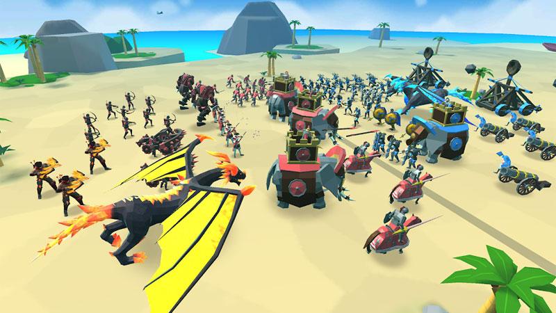 Epic Battle Simulator 2 на телефон