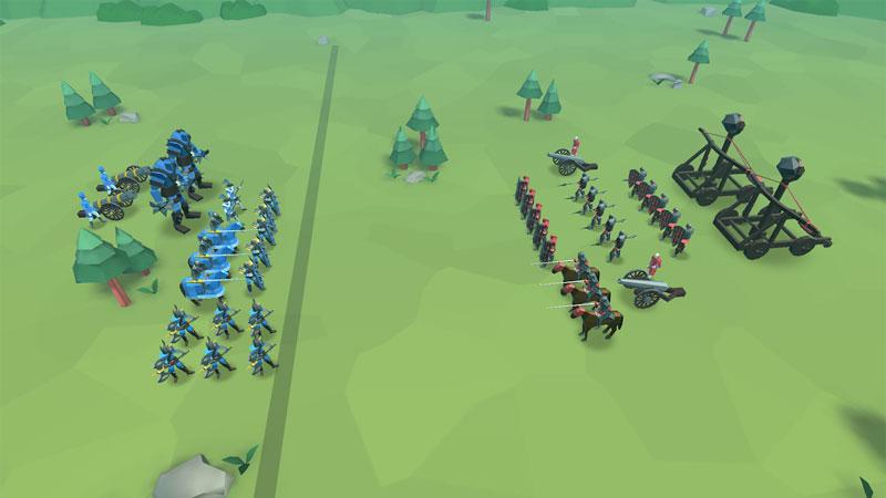 Epic Battle Simulator 2 мод