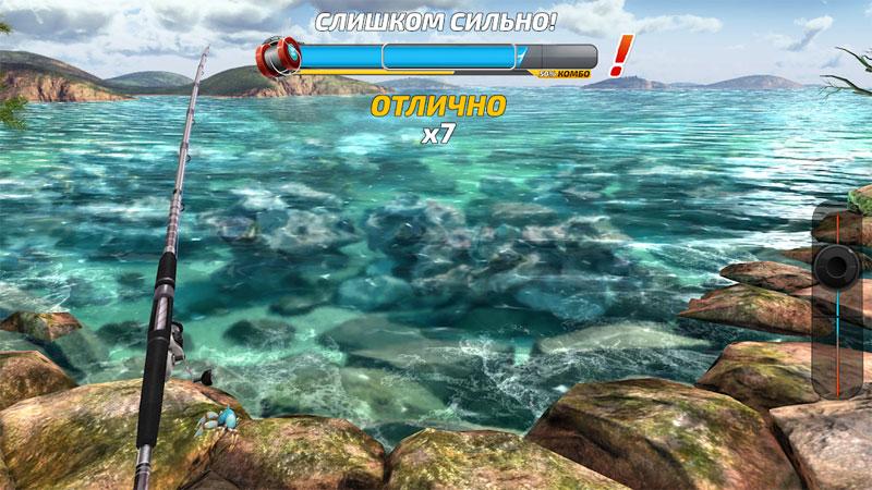 Симулятор рыбалки — Fishing Clash 2019 мод