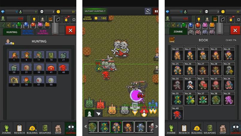 Grow Zombies VIP [500 Gem + без рекламы + бесплатно] скачать