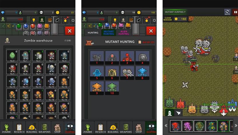 Grow Zombies VIP [500 Gem + без рекламы + бесплатно] на телефон