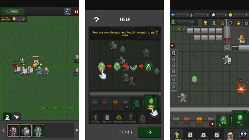 Grow Zombies VIP [500 Gem + без рекламы + бесплатно]