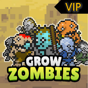 Grow Zombies VIP [500 Gem + без рекламы + бесплатно]