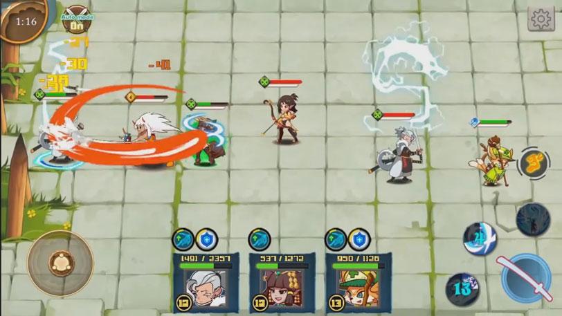 Legend Guardians на андроид