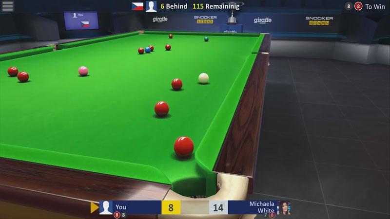 Бильярд — Snooker Stars на андроид