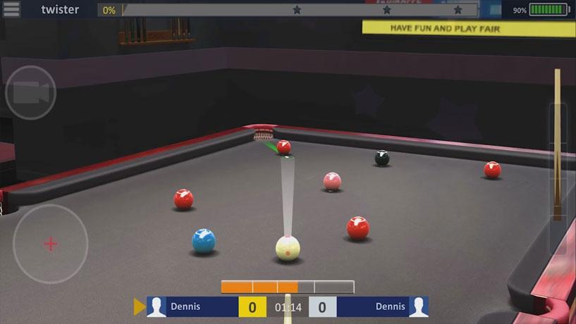 Бильярд — Snooker Stars мод