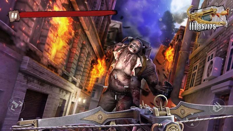Атака на зомби — Zombie Frontier 3 на андроид