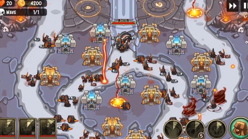 Empire Warriors TD [премиум версия] на андроид