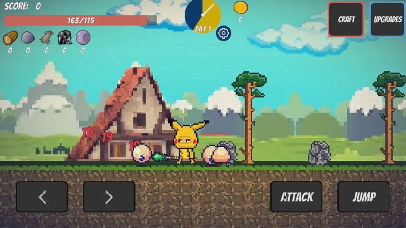 Pixel Survival Game на андроид