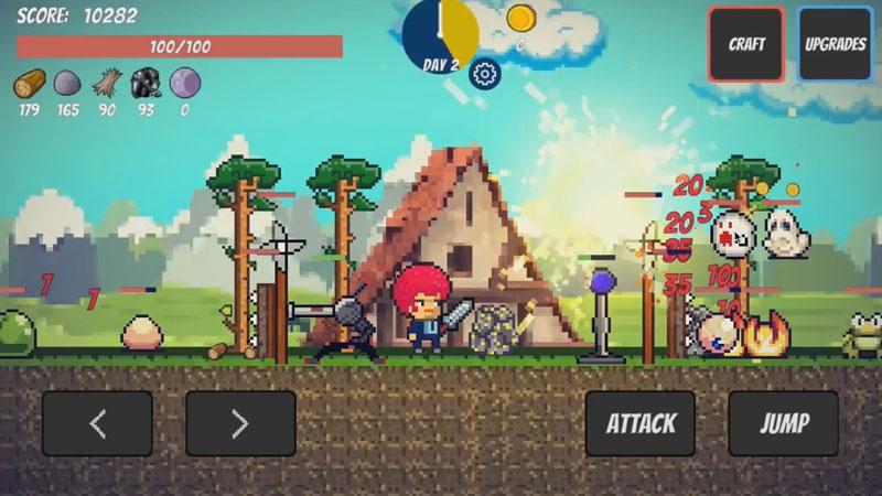 Pixel Survival Game скачать