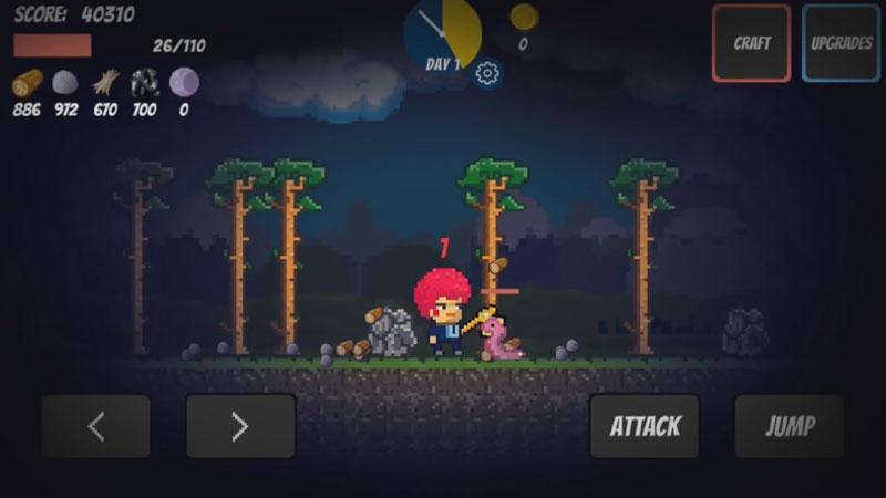 Pixel Survival Game на телефон
