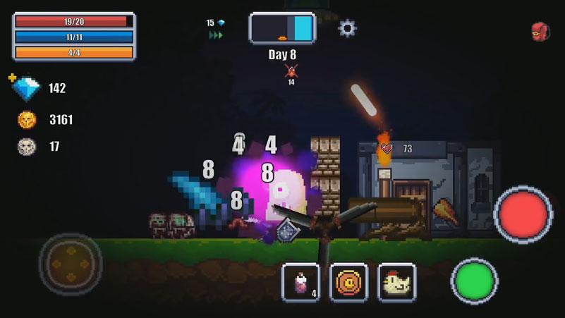 Pixel Survival World на телефон