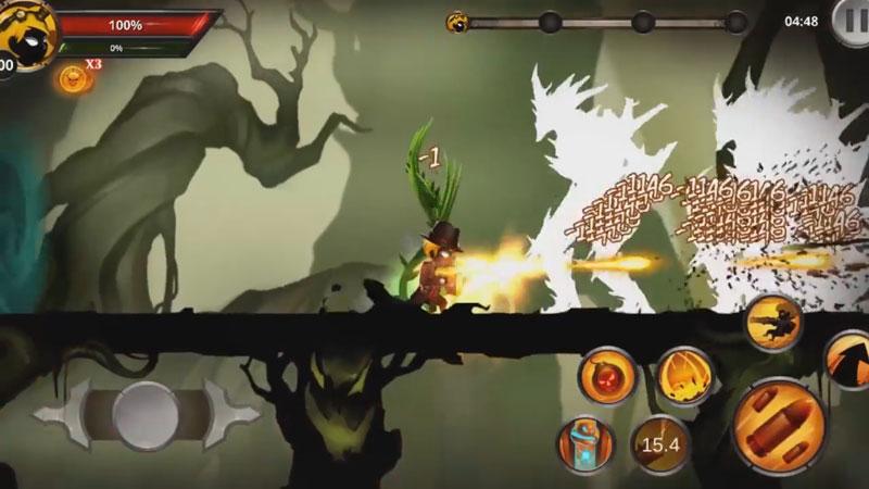 Файтинг - Stickman Legends: Shadow War [бесплатно] на андроид