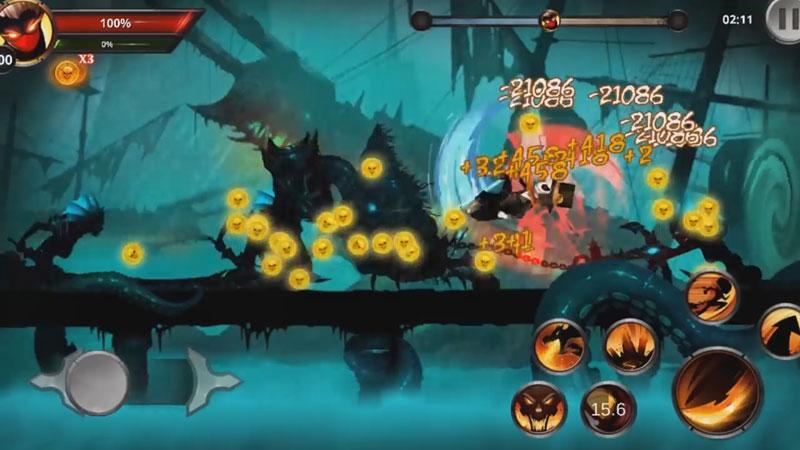 Файтинг - Stickman Legends: Shadow War [бесплатно] скачать