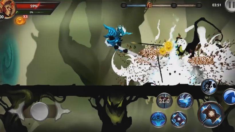 Файтинг - Stickman Legends: Shadow War [бесплатно] на телефон