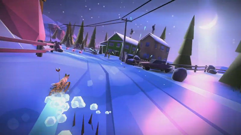 Animal Adventure: Downhill Rush на телефон