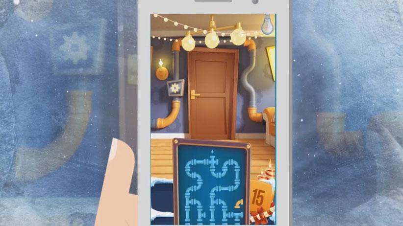 Головоломки - Открой 100 Дверей мод