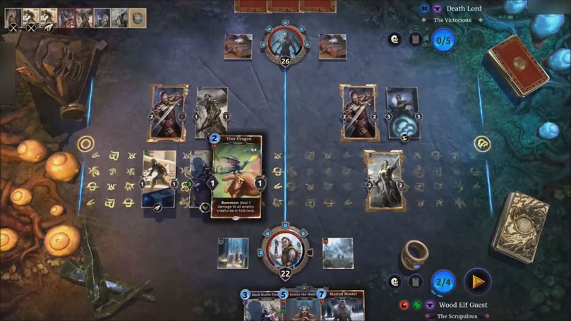 The Elder Scrolls: Legends на телефон