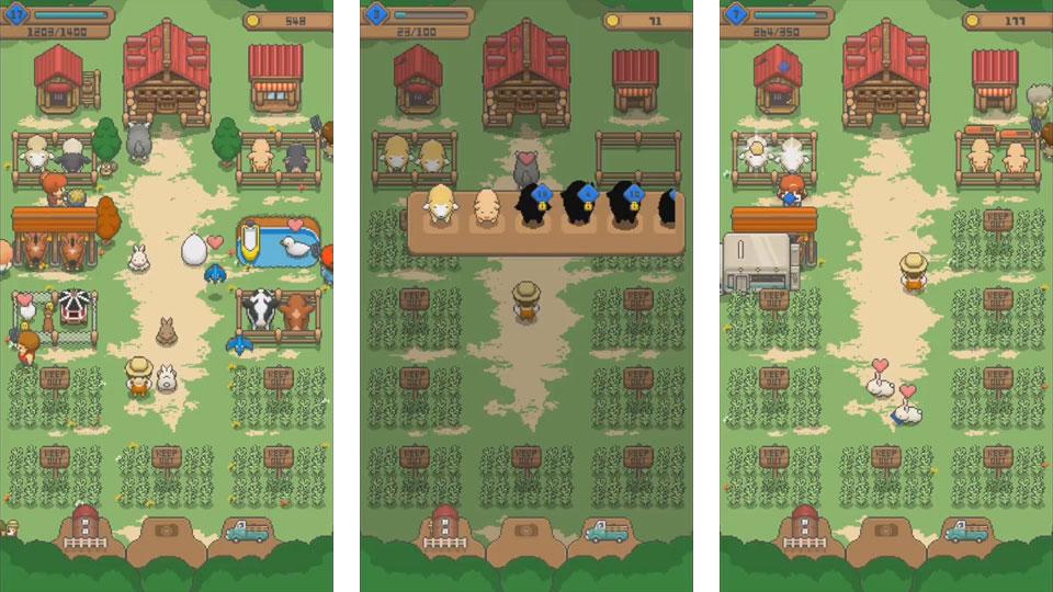 Tiny Pixel Farm на андроид