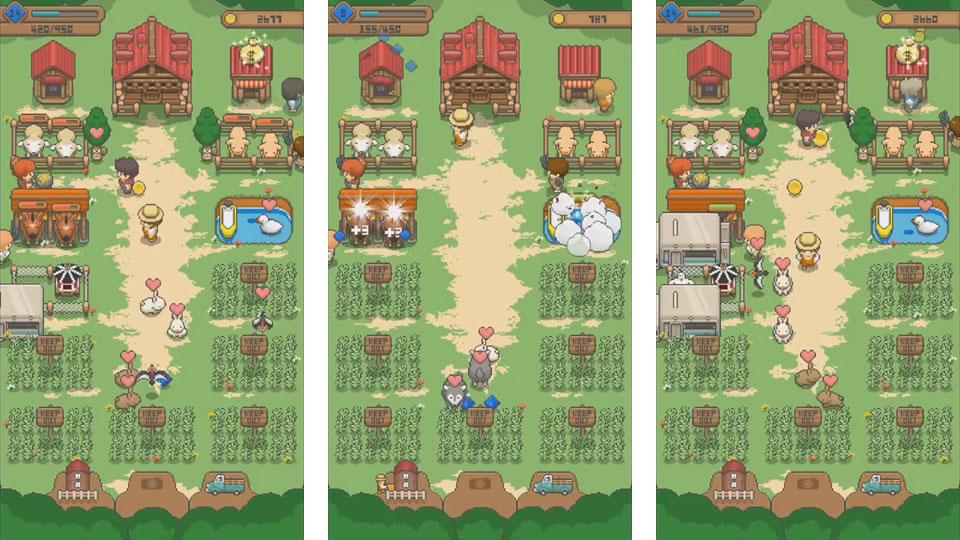 Tiny Pixel Farm на телефон