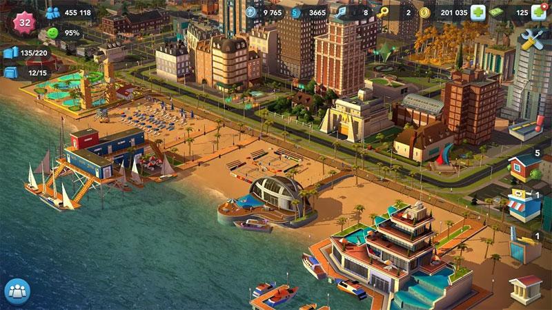 SimCity BuildIt 2019 на андроид