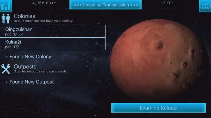 Космические переселенцы - TerraGenesis на телефон