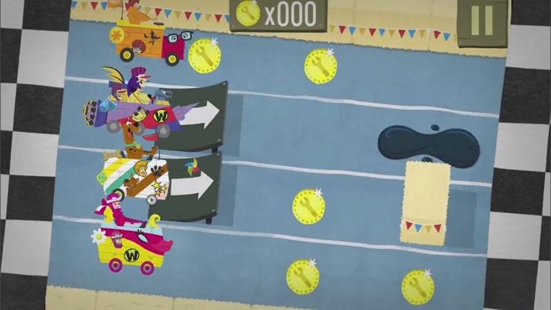 Boomerang: Мультяшные гонки — Гонки со Скуби-Ду на телефон