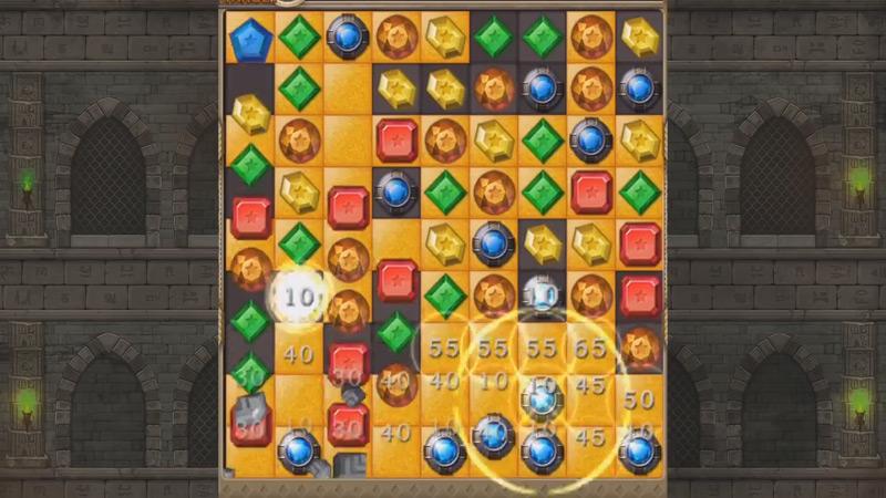 Jewels - головоломки три в ряд с драгоценностями на андроид