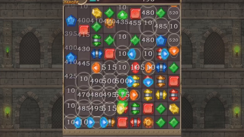 Jewels - головоломки три в ряд с драгоценностями скачать