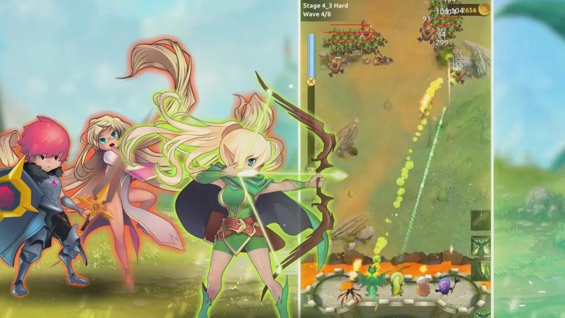 Knight War: Idle Defense на андроид