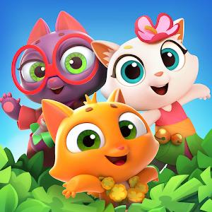 Tropicats: 3 в ряд и головоломки на острове кошек