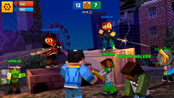Пиксельный шутер - Block City Wars на андроид