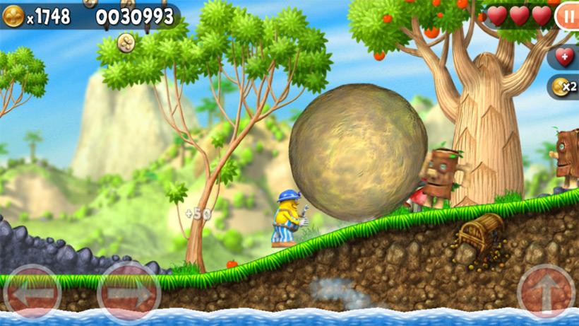 Бегалка-бродилка Incredible Jack скачать