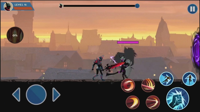 Shadow Fighter на телефон